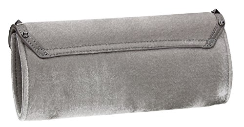 SwankySwans , Damen Clutch One Size Grau