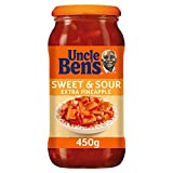 Uncle Ben's Sweet and Sour Extra Pineapple Cooking Sauce, 450g