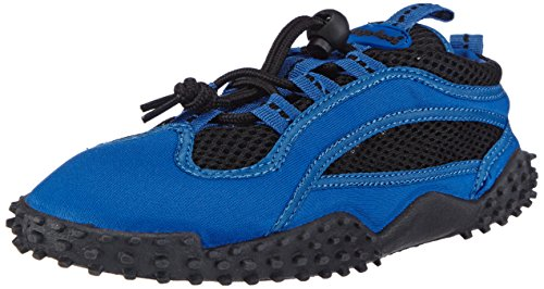 Playshoes Badeschuhe, Aquaschuhe, Surfschuhe 174501 Unisex-Erwachsene Aqua Schuhe, Blau (blau 7), EU 40