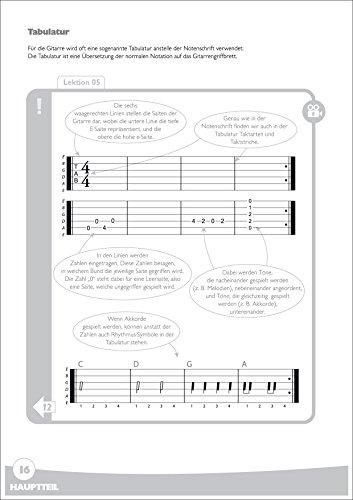 Spielend Gitarre Lernen: Die große Anfänger-Gitarrenschule (mit DVD) - 3