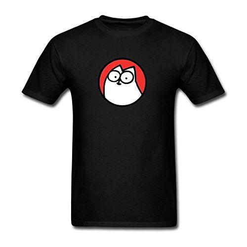 Men's Simon's Cat Logo T-Shirt S ColorName Short Sleeve Medium