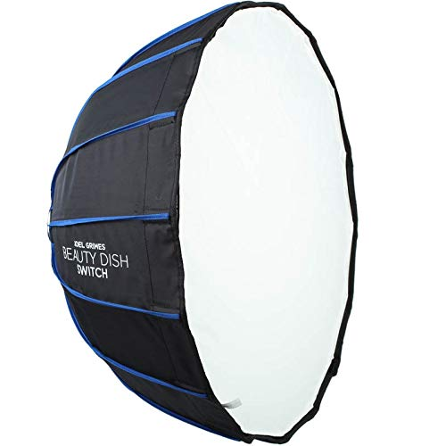 Westcott Rapid Box Beauty Dish Switch - Hexadekagon-Softbox (61 cm) für Studioblitze und Studioleuchten bis 650 Watt - Speedring separat erhältlich -