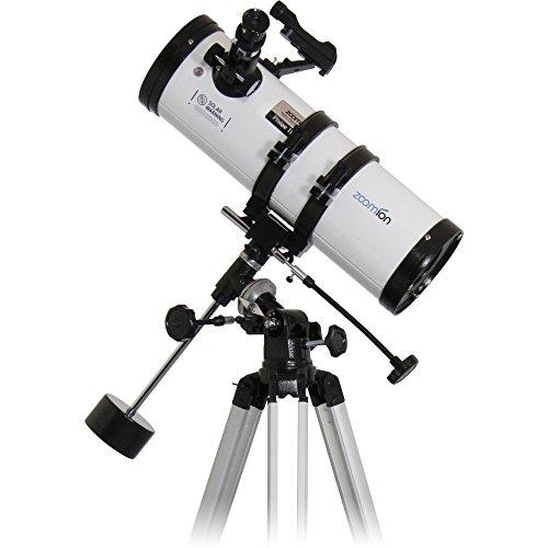 Zoomion Philae 114 EQ, telescopio astronómico con Apertura de 114 mm y 500 mm de Distancia Focal