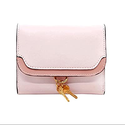 ZLR Mme portefeuille Ladies Small Wallet Lady Short Section Personnalité Wallet Small Clear New Folding Wallet