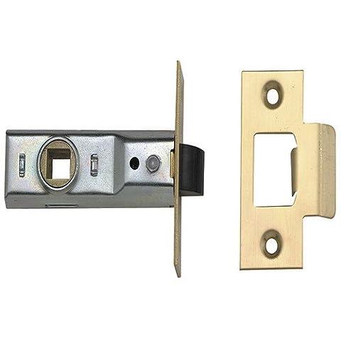 Union Locks 2648 Fallenschloss, 64mm, nach britischer Norm, Messing poliert (Türdrücker Latch)