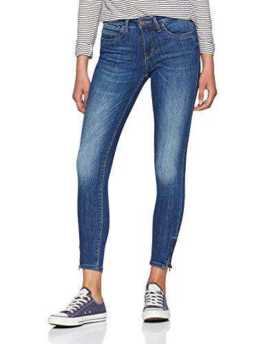 ONLY NOS Damen Skinny Jeans Onlkendell Reg SK Ank Jns CRE178067 Noos, Grau (Medium Blue Denim), W28/L30 - Knöchel Hose