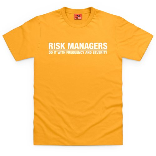 Square Mile Risk Managers T-Shirt, Herren Gelb