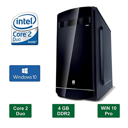 Desktop PC - Intel Core 2 Duo E8400 - 3.0GHz Processor / 320 GB HDD / 4GB Ram / Windows 10 Pro / DVD / WiFi  available at amazon for Rs.11954