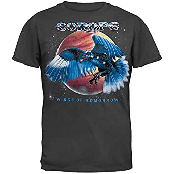 Old Glory - Europe - Mens Wings Of Tommorrow T-shirt X-Large Grey