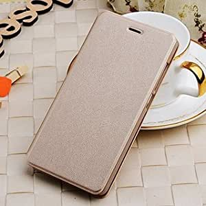 Joy Premium Leather Flip Cover For SAMSUNG GALAXY J1 ACE (GOLD)