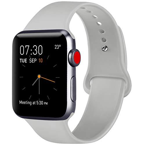 save off 386dc fe5c6 ATUP Bracelet Compatible pour Watch Bracelet 38mm 42mm 40mm 44mm, Bracelets  de Remplacement en Silicone
