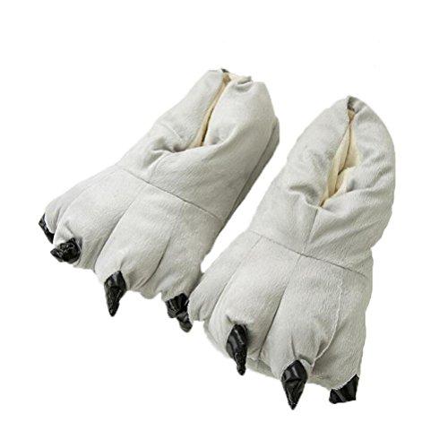 Vogstyle Pantofole Peluche Pistone Caldo/Kigurumi Pigiami e Camicie da Notte Stile-3 Grigio