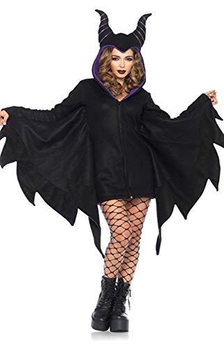 Herren Kostüm Erwachsene Dämonen Robe Für - AWSAYS Halloween Fledermaus KostüM Vampir DäMon KostüM Hexe KostüM Maskerade Verkleiden Sich