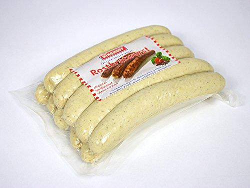 Bratwurst 10x100g – Rostbratwurst/Grillwurst ideal für Grill und Pfanne – Original westfälische Bratwurst