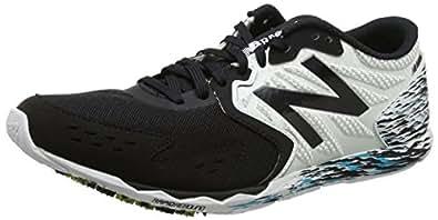 New Balance Men's Hanzo Running Shoes, Black/White, 9 UK
