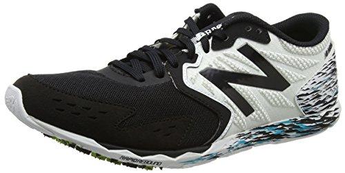 New Balance Hanzo, Chaussures de course pour homme, Noir (Noir / Blanc), 45.5 EU