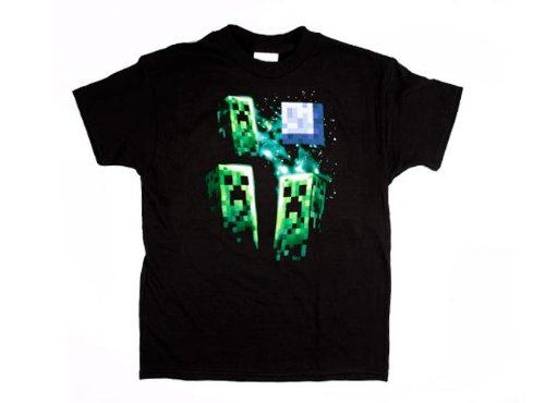 per Moon Youth T-Shirt Youth Medium (Minecraft Creeper Kostüme)