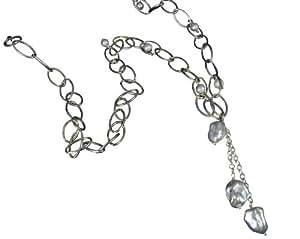 Jane Davis - JDJPRL002 - Collier Femme - Argent 925/1000 33 Gr - Perle d' Eau douce Chinoise