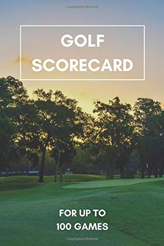 Golf Scorecard: 6x9 Track up to 100 Matches and Games: Everything important in one place! Your Golf Buddy and Log book for scores and stats por Golf Supplies Publishing