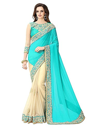 DIYA Fashion Sarees New Disigner Georgette Saree With Blouse Piece , Diya Fashion Designer Saree, Latest Collection Designer,Bollywood Designer Sarrees For Women Designer Sarees For Sale Sarees,indian traditional designer wear,smooth finish and perfect stitching,Diya fashion create fancy fabrics at cometitive prices.the diyafashion serves the customers with superior quality fabric ((Sky Blue Chiku Heavy Work Saree)  available at amazon for Rs.811
