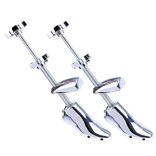 Générique MagiDeal Hommes Métal Civière De Chaussure 2 Pièces (EU 39-46)