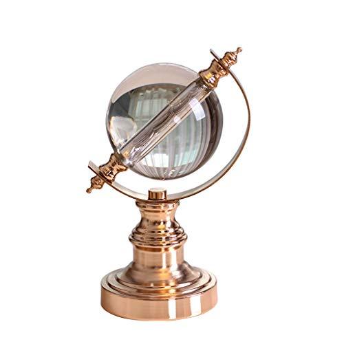 Ornamente/Crystal Ball World Globe/Neuheit Dekorationen, Sammlerstücke, Arts & Crafts, Wohnaccessoires, Desktop-Dekor, Office-Studie Handwerk