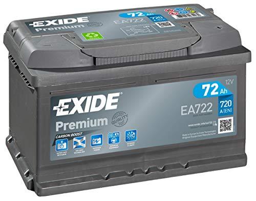 EA722 Exide Premium Auto Batteria 096TE