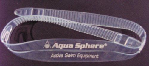 Aqua Sphere-Silicon Ersatzband für Schwimmbrillen-Transparent