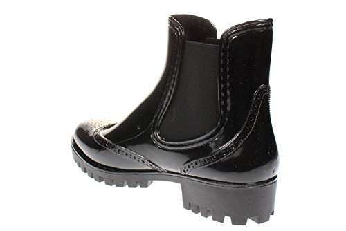 Buffalo Pth-0035 PVC, Stivali di Gomma Donna Nero (Black 03 001)