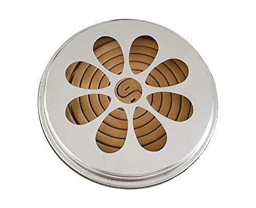 Citronelle - Spirale - Boîte en métal - 10 Pcs