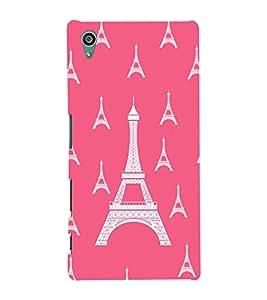 printtech Eiffel Tower Pattern Back Case Cover for Sony Xperia Z5::Sony Xperia Z5 Dual::Sony Xperia Z5 Premium
