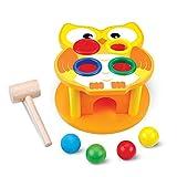 Docooler Stampfen Spielzeug Holz Bunte Hammer Spiel Tragbare Hammer Punch Ball Drop Pädagogische Entwicklung Spielzeug für Baby Kinder
