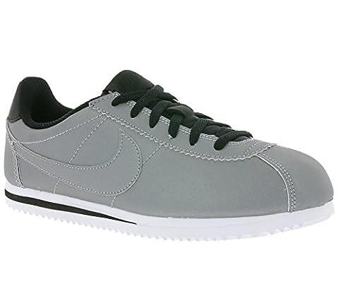 NIKE Cortez Premium (GS) Schuhe Kinder Sneaker Turnschuhe Silber 905469 001, Größenauswahl:39