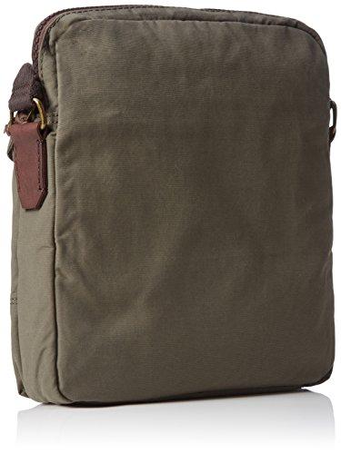Marc O'Polo Herren B0127170701600 Crossbody Bag S Umhängetaschen, 40x32x13 cm Grün (khaki 410)