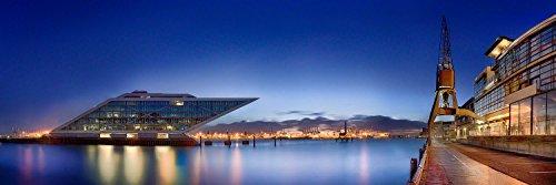 Hamburg Dockland im Hamburger Hafen. Fotografie Abzug in Galerie Qualität. Druck auf Fine Art Photo Papier, versandfertig gerollt als Kunst Foto Bild