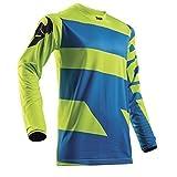 THOR PULSE LEVEL Motocross Jersey 2018 - electric blau lime