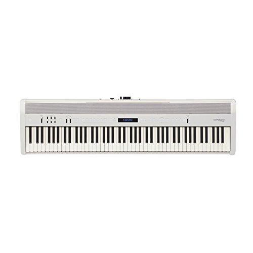 Roland fp-6088llaves weiß Digitalpiano E-Tastatur (4W, 22W, 1291mm, 344mm, 125mm, LCD) Fp Lcd