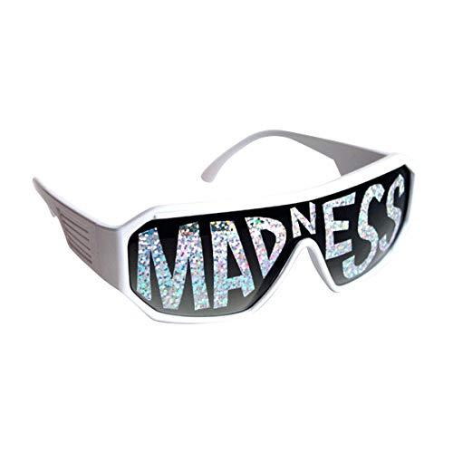 Macho Man White Madness Sunglasses Randy Savage Costume Wrestler Wrestling Party
