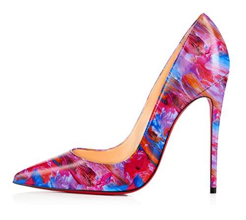 uBeauty - Scarpe da Donna - Scarpe col Tacco - Classiche Scarpe col Tacco - Sexy Tacchi alti -multicolore tacchi alti Multicolore B