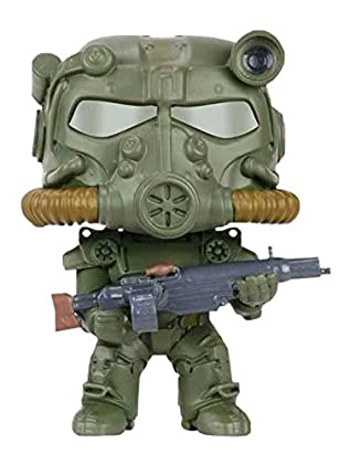 Fallout - Pop Vinyl: Figura T-60 Green Power Ar...