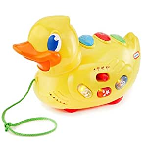 Little Tikes Sing N Roll Ducky, Multi Color
