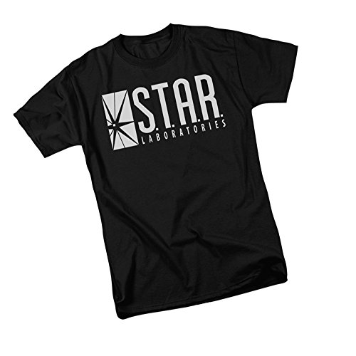 S.T.A.R. Laboratories Logo -- CW's The Flash TV Show Youth T-Shirt, Youth Large -