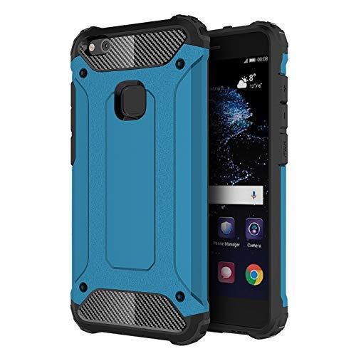 ALLSHOPSTOCK (#52) für Huawei P10 Lite Magie Armor TPU + PC Kombination Schutzhülle(blau)