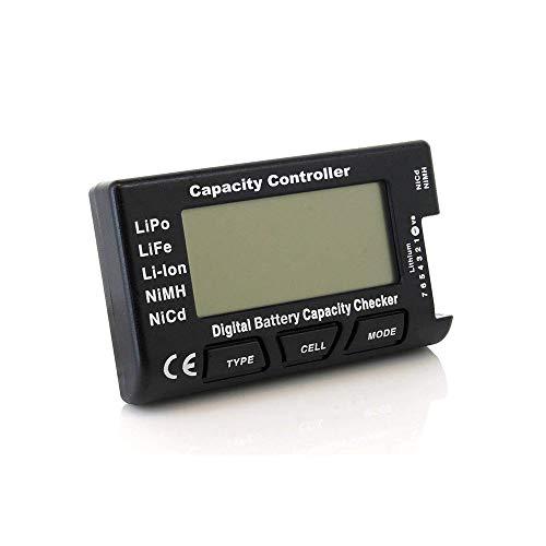 HTRC Digital Battery Capacity Checker Voltage for LiPo/Life/Li-ion/NiMH/Nicd CellMeter 7 V2 Lipo Li-ionen
