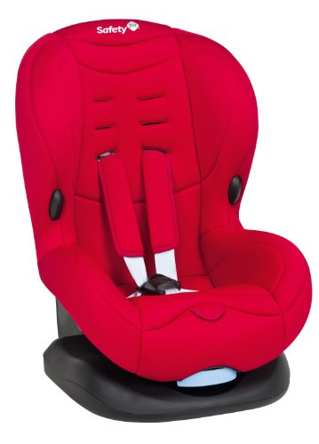 Safety 1st 75407650 - Baby Cool Plus Kinderautositz Gruppe 1 (ab ca. 9 Monate bis 3,5 Jahre), Full Red