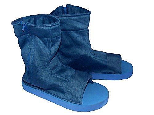 ACGCos Naruto Shippuden Cosplay Accessory Male Blue Ninja Shoes (Cosplay Uk Hinata)