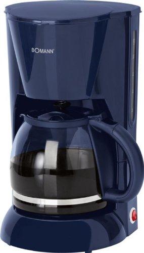 Kaffeemaschine Glaskanne 1,5 Liter Wasserstandsanzeige Kaffeeautomat 12 Tassen (Herausnehmbarer...