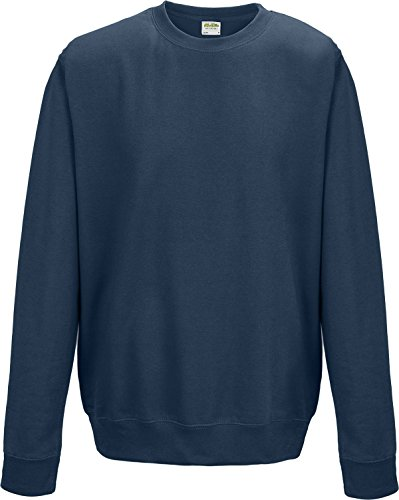 Crew Neck SweatShirt - Huge 37 Colour Range Available - Airforce Blue