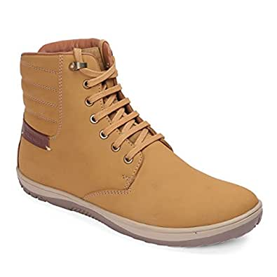Red Chief Leather Men's Rust Boots-10 10 UK/India (44 EU) (RC3550 022)