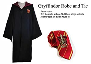 Harry Potter magnificent beasts rope cape griffindor tie Fancy Dress Party Costume Kids mens adults ladies boys Wizard Magic Magician
